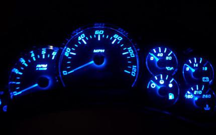 2003 tahoe cluster lights